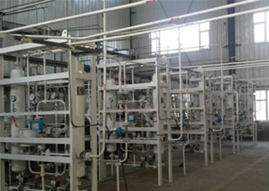 乙炔设备七台变压吸附干燥运行组
