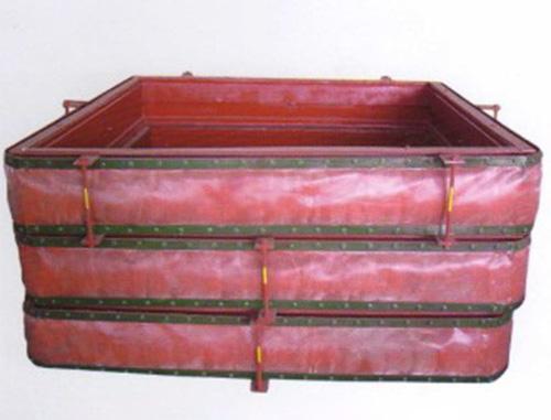 矩形織物補償器