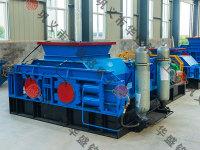 大容量液压对辊破碎机主要采用三角带或万向节联轴器驱动