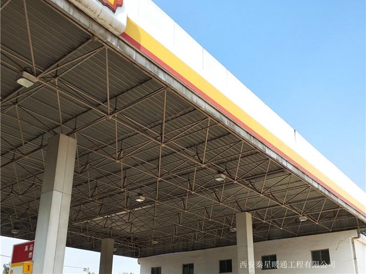 銅川孫塬加油站發熱電纜電地暖施工案例