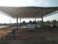 榆林市大保當加氣站電地暖安裝工程