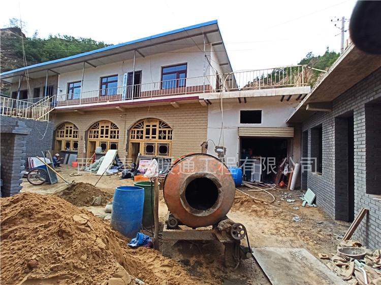 陜北延安吳起縣家用窯洞采暖電地暖安裝工程