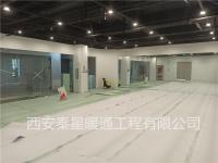 西安高新素梵瑜伽館電采暖安裝工程
