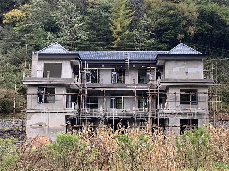 漢中佛坪民宿冬季電采暖安裝工程