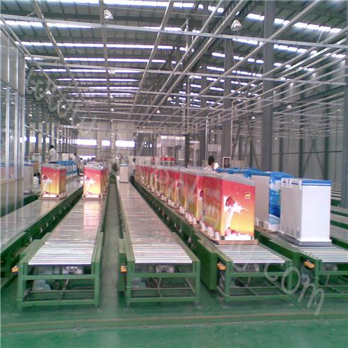 冷柜生產線