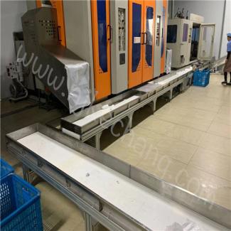 上海注塑機輸送皮帶線