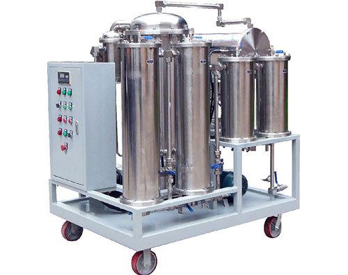 便移式滤油机的组装调试注意事项