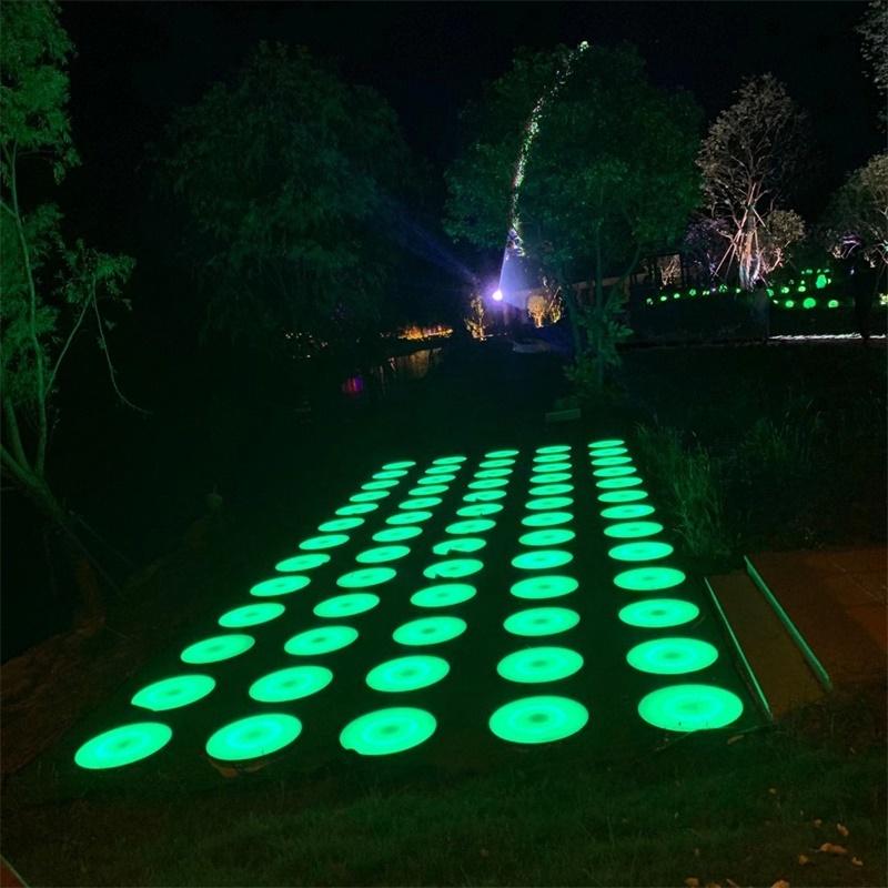 圓形地磚燈