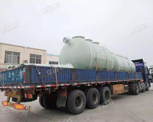 玻璃鋼污水處理器發貨