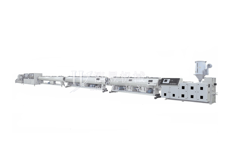 pe三層共擠管材生產線