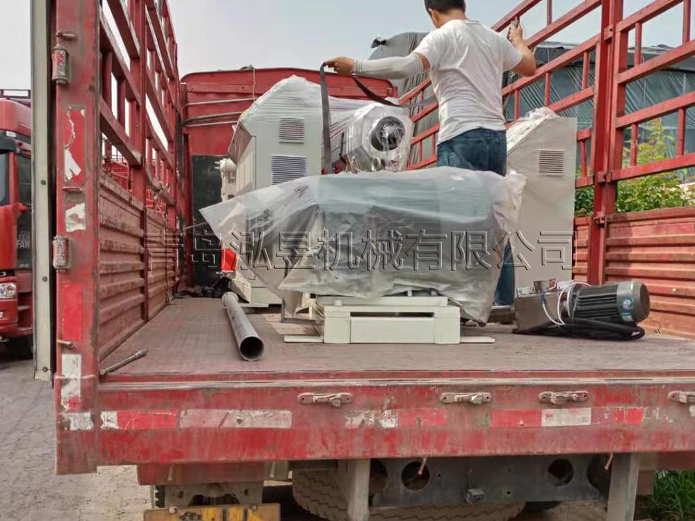 纖維增強軟管設備發貨