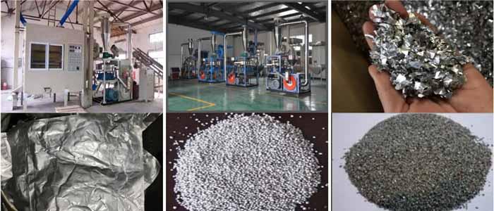 鋁塑分離回收設備