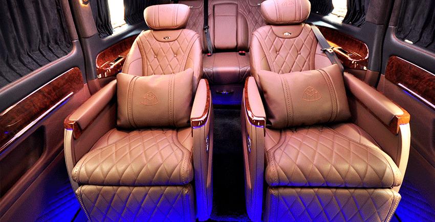 商務車改航空座椅