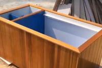 玻璃鋼養魚池試水視頻