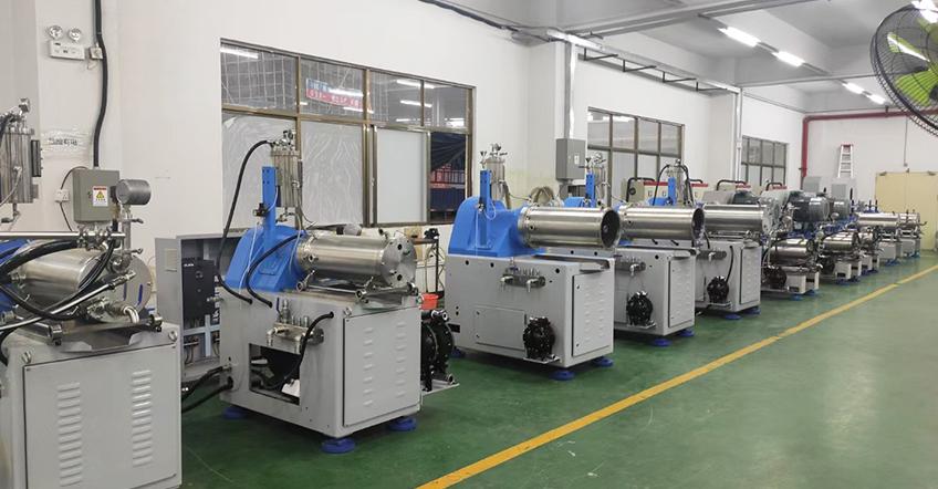 砂磨机研磨设备
