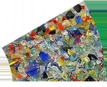 廢玻璃碎料色選方案