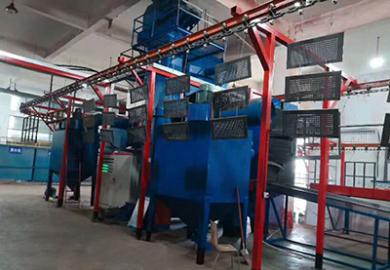 蘇州14拋懸鏈通過式成功交付使用