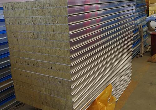不銹鋼巖棉凈化板