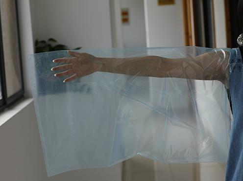 藍色塑料袋