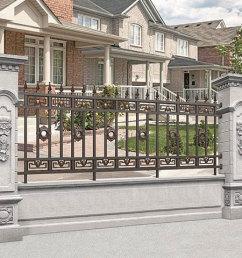 铝艺围栏安装公司