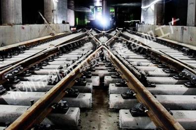 內蒙地鐵道岔