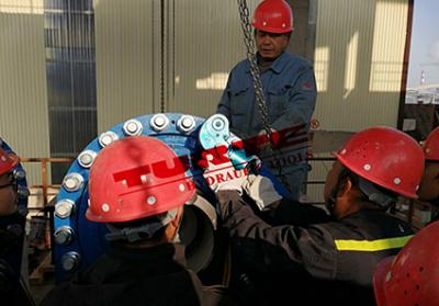 中国三冶嘉鱼某项目设备调试