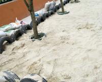 幼兒園兒童沙施工