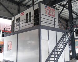 青口鋼材市場辦公室車間組合住人集裝箱