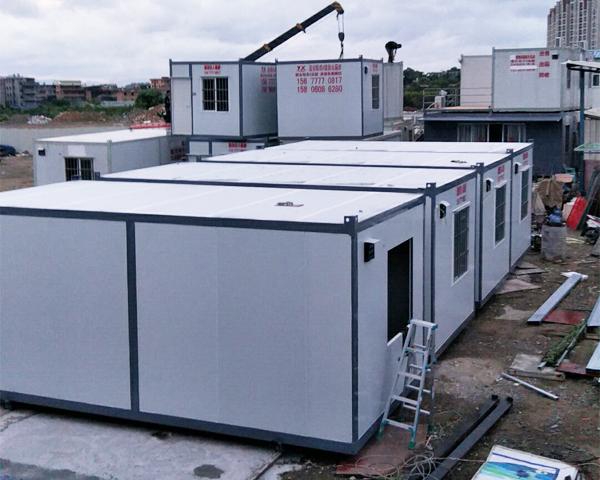 建筑工地居住集裝箱