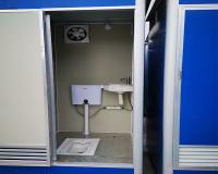 單位集裝箱廁所