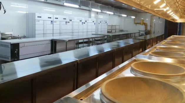 餐飲廚房工程,商用廚房工程,廚房設備廠家