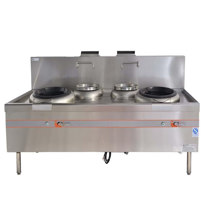 小炒爐,雙頭雙尾爐,燃氣爐具