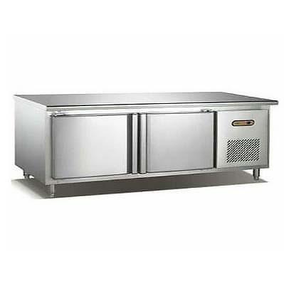 雙門單溫平面工作臺冷藏柜