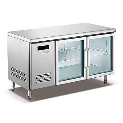 雙門平臺保鮮柜