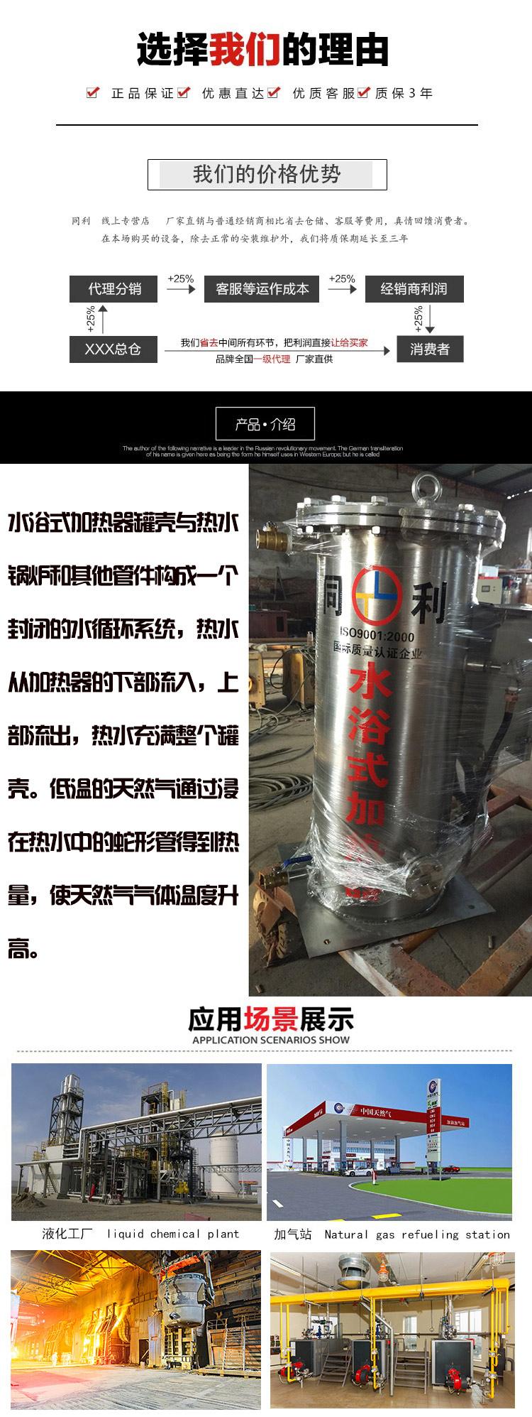 电热式NG辅热器