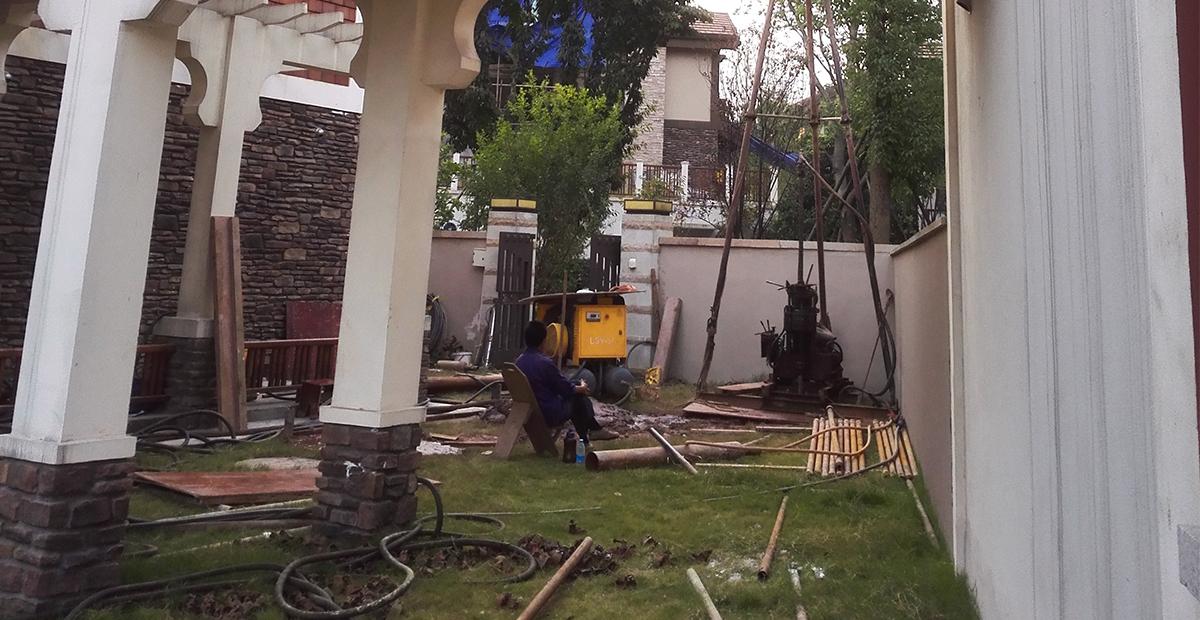 别墅打水井施工