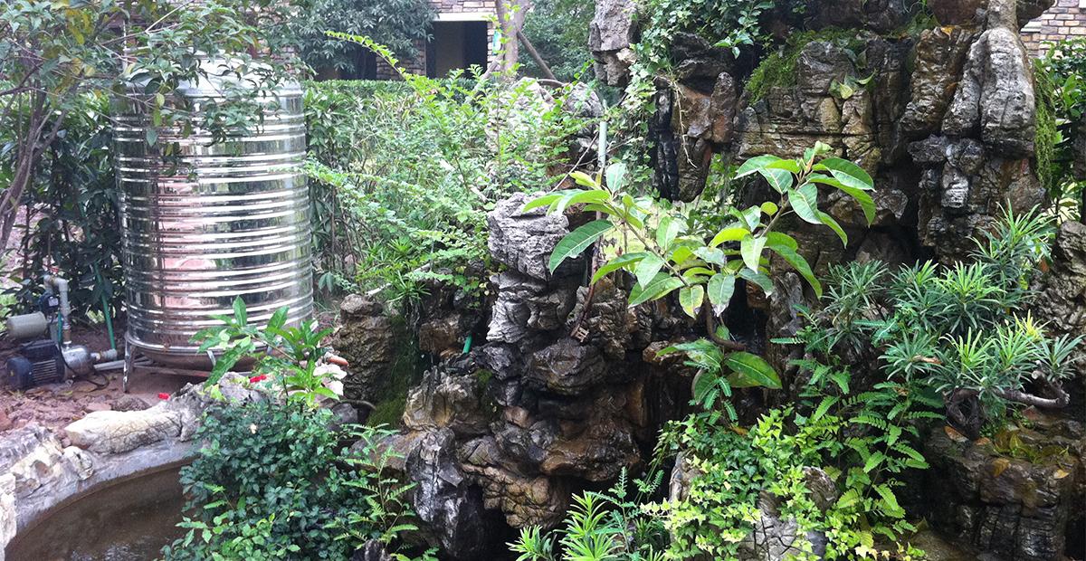 庭院别墅钻水井