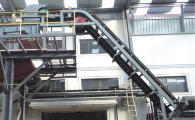 DJ型系列波狀擋邊式帶式輸送機