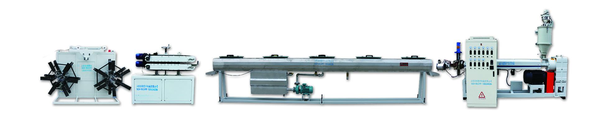PE管材設備生產線