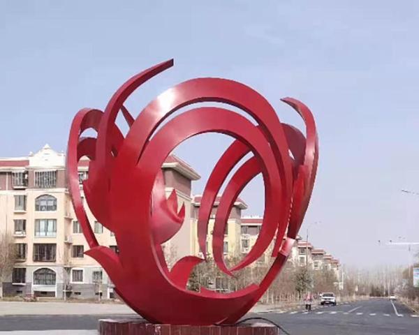 河南不銹鋼雕塑