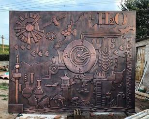 安陽定制鍛銅雕塑