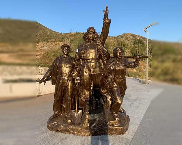 河南鍛銅雕塑