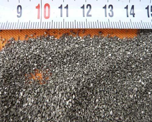 蘇州銀白色錫鈦合金砂(耐磨地坪專用)
