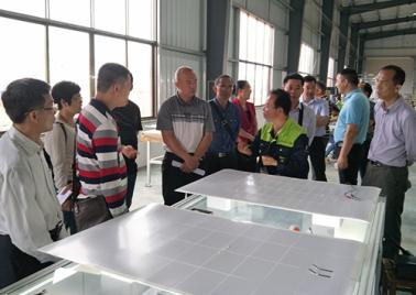 熱烈歡迎梧州市長洲區政協副主席陳瑩杰一行領導到我廠調研考察