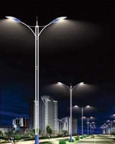 太陽能雙臂路燈批發