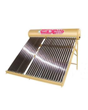 欽州土豪金雙倉太陽能熱水器