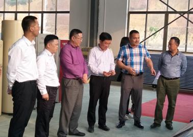 熱烈歡迎自治區投資促進局副局長路萬青、崇左市副市長楊新一行領導來我司調研考察