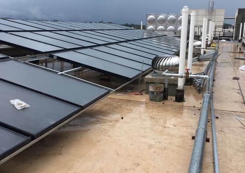 南寧五象糧油太陽能熱水工程
