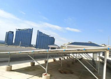 南寧市鳳翔路小學景暉校區55KW光伏發電項目
