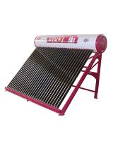 家庭用太陽能熱水器